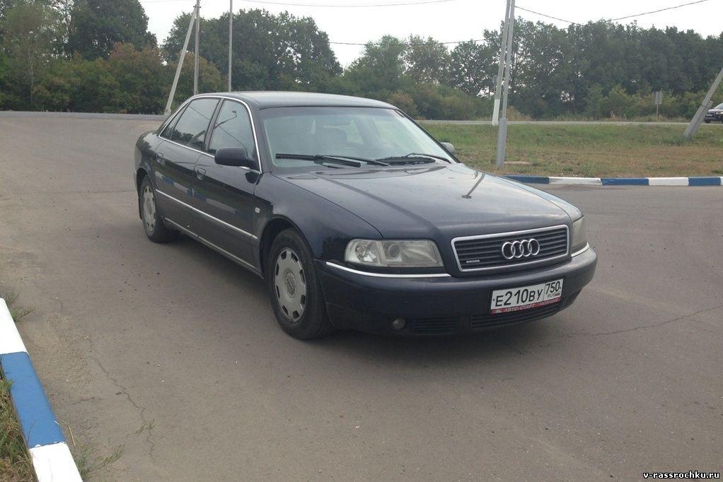 Audi A8, 2002 г. в аренду с выкупом